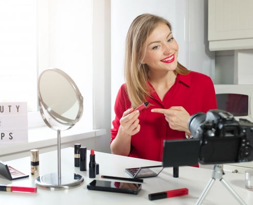 video marketing for makeup experts